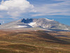 Norway, Dovrefjell - Distant mountains and tundra