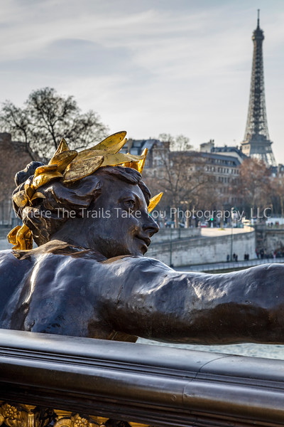 Keeping An Eye On Paris - Vertical