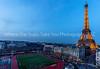 Tour Eiffel At Dusk