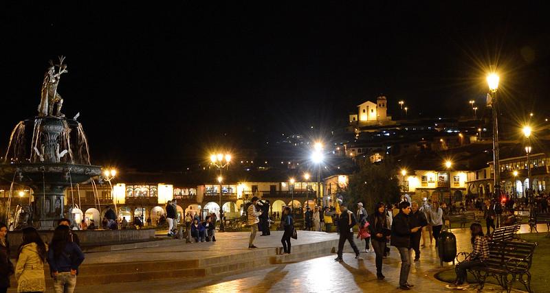 Plaza de Armas--Cusco, Peru