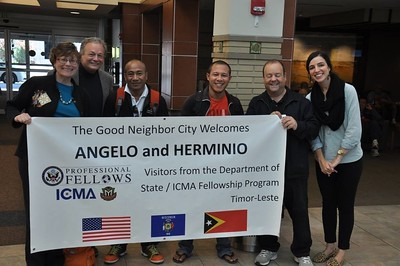 City of Middleton welcome Timor-Leste Fellows (Oct 2014)
