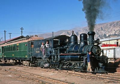 July 1976.  La Paz, Bolivia.