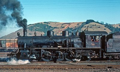 February 1977.  Temuco.  The 733 was an Alco product from 1921.