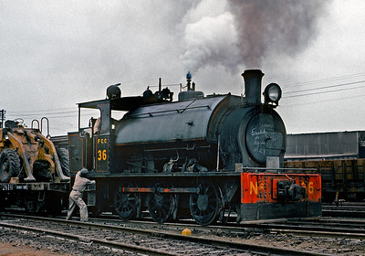 June 1976.  Steam at the Lima, Peru docks (Callao).