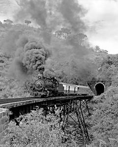 November 1970.  The tunnel above La Cuesta,
