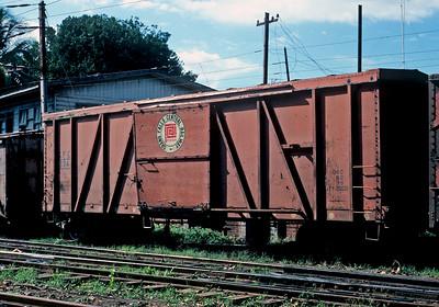 A former Newfoundland car.  The Grand Falls Central was a shortline that contected with the Newfoundland Railway.