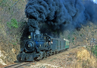 March 1971.  Heading west from Zacapa on the branch to El Salvador.