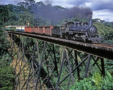 November 1971.  One of the many bridges on the Pacific side between Tecun Uman and Escuintla.