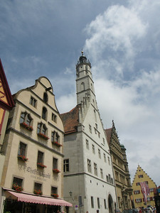 Rathaus tower. That is where we started at the beginning of the day.