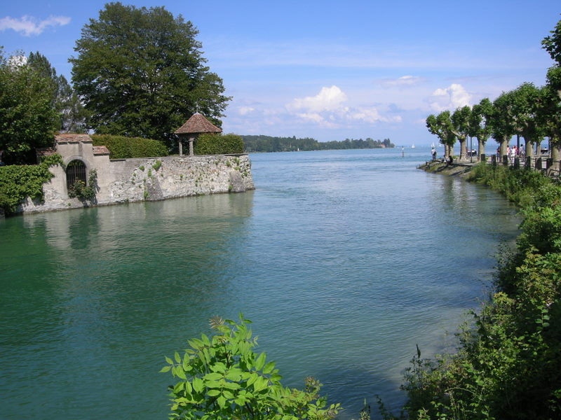Along the bodensee