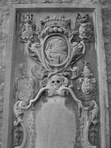 Plaque/tomb at Cathedral