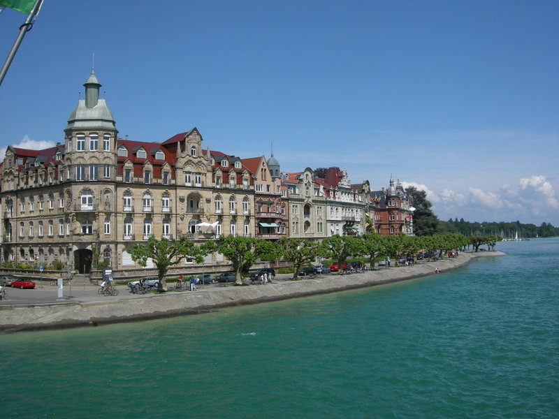 Homes along the bodensee