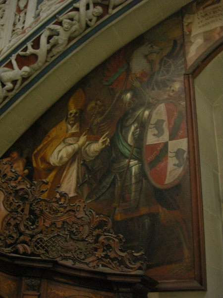 This painting really caught my eye. Revealing the evil that lurks inside everyone, including bishops (interesting, given the history of Konstanz).
