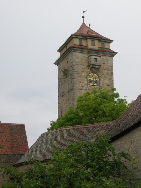 Tower along the wall