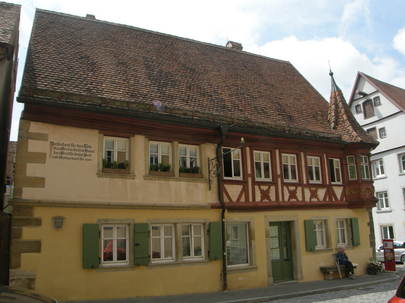 One of the older buildings