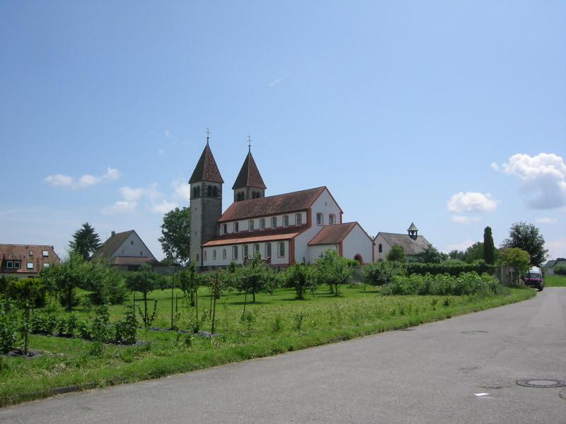 St.Peter und Paul church on Reichenau