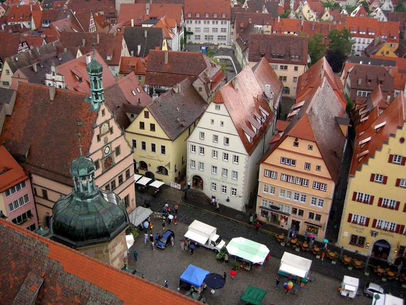 Rothenburg was the inspiration for the village in Pinocchio and many other movies/books.