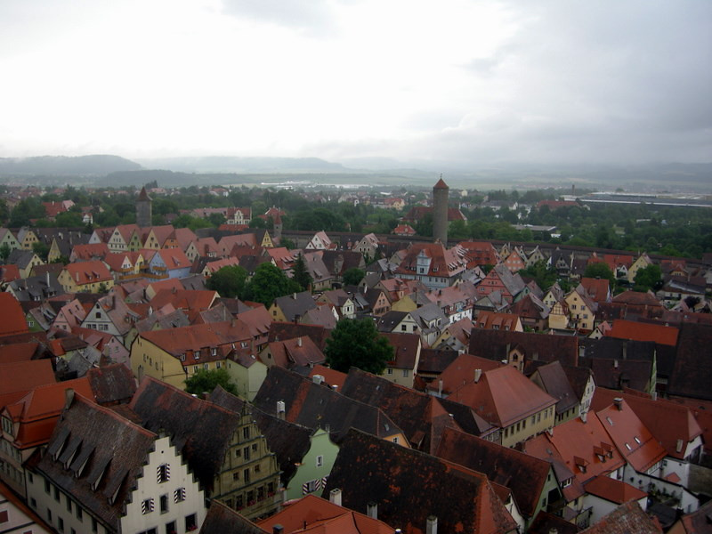 We paid the 2 euro to climb up the old rathaus (city hall) tower to get a view and plan the day.