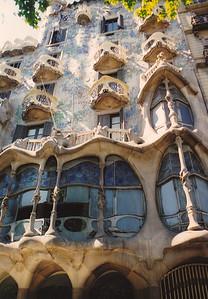 Casa Batllo (Gaudi)--Barcelona, Spain