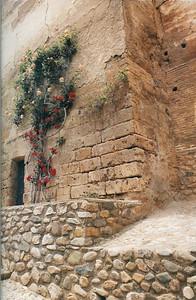 Alcazaba wall (Alhambra)--Granada