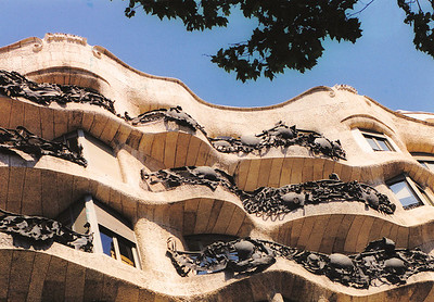 Casa Mila (Gaudi)--Barcelona, Spain