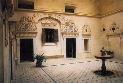 Alcazar interior room--Seville