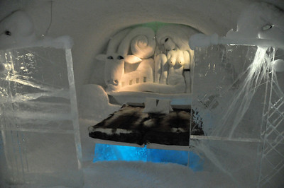 "My Room ""Get Bad"", Ice Hotel, JUKKASJÄRVI, Sweden"