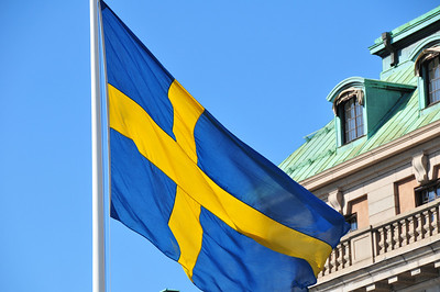 Swedish Flag, Stockholm