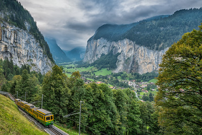 Train to Wengen