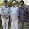 Mridangam teacher, Sivaraman (center)<br /> <br /> I was fortunate enough to go to Sivaraman's house three times and study percussion.