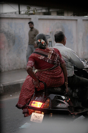 Traditional way for a woman to ride