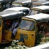 auto rickshaws were very popular and inexpensive
