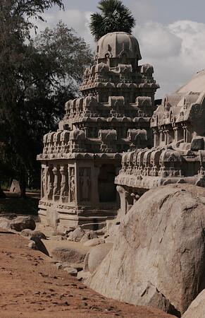 Dharma raja ratha. Five Rathas, Mahabalipuram