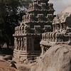 Dharma raja ratha.<br /> Five Rathas, Mahabalipuram