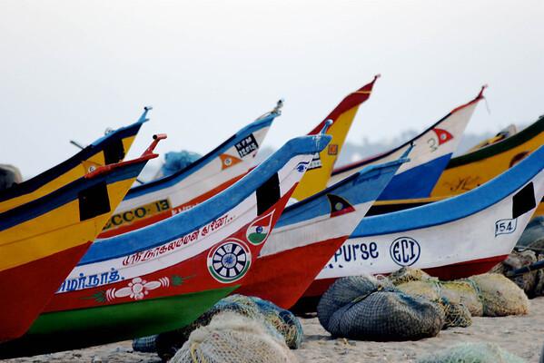 Kovalam fishing fleet