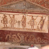 An example of the preserved frescos found in the ruins of Pompeii.