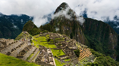 CRV_8386 Machu Picchu in clouds best