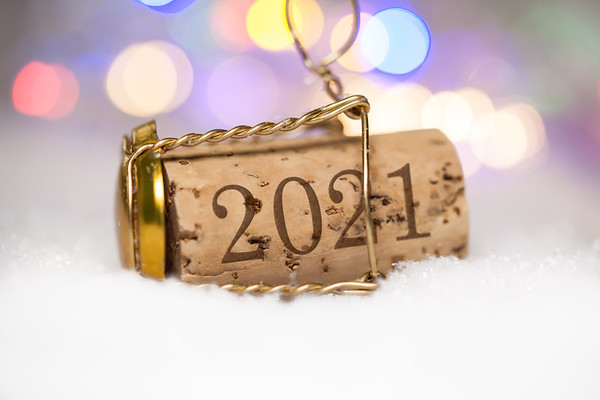 2021 new year's party