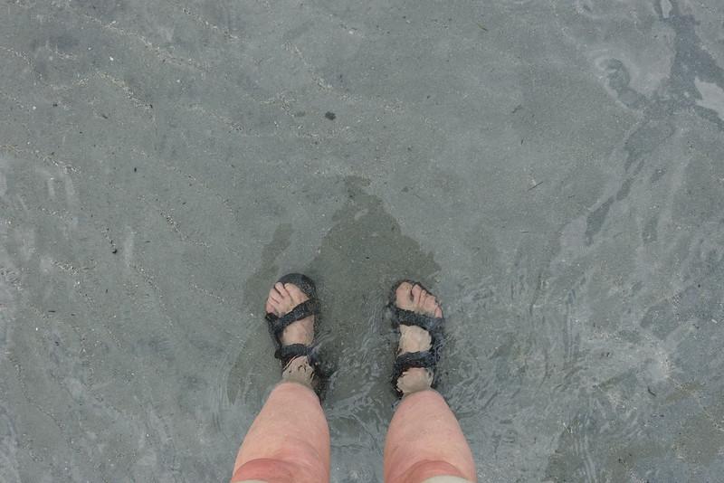 Water was soooo clear.