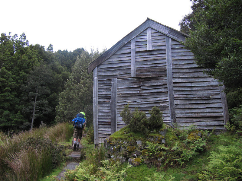 Du Cane Hut; for emergency shelter only.