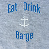 "I christened our adventure ""Eat, Drink, and Barge"".and had these t-shirts made up for my crew."