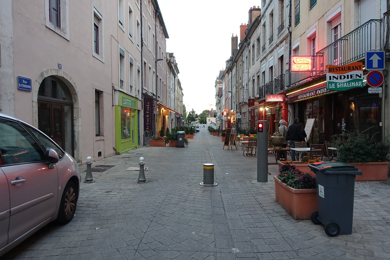 Rue de Strasbourg  on Saint-Laurent Island.