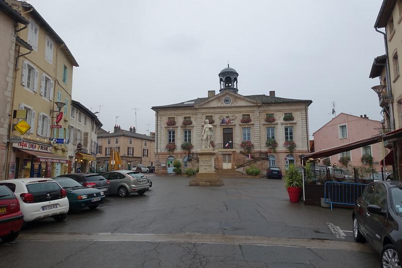 Tournus square