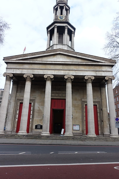The parish and Muncipal Church of San Pancras is dedicated to the Roman boy Pancratius who was martyred by the emperor Diocletion in 304. The foundation stone of this church was laid by the Duke of York and Albany on July 1, 1819.
