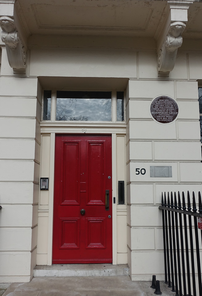 Several members of the Bloosmbury Group lived here, including Virginia Wolff