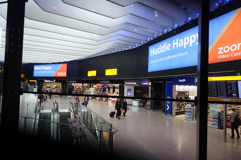 The new Heathrow T2  opened June 14, 2014 to  much larger more contemporary welcome to the UK.  My last visit to the UK was over 10 years ago and I had been dreading  Heathrow, but it turned out to be not so bad at all.