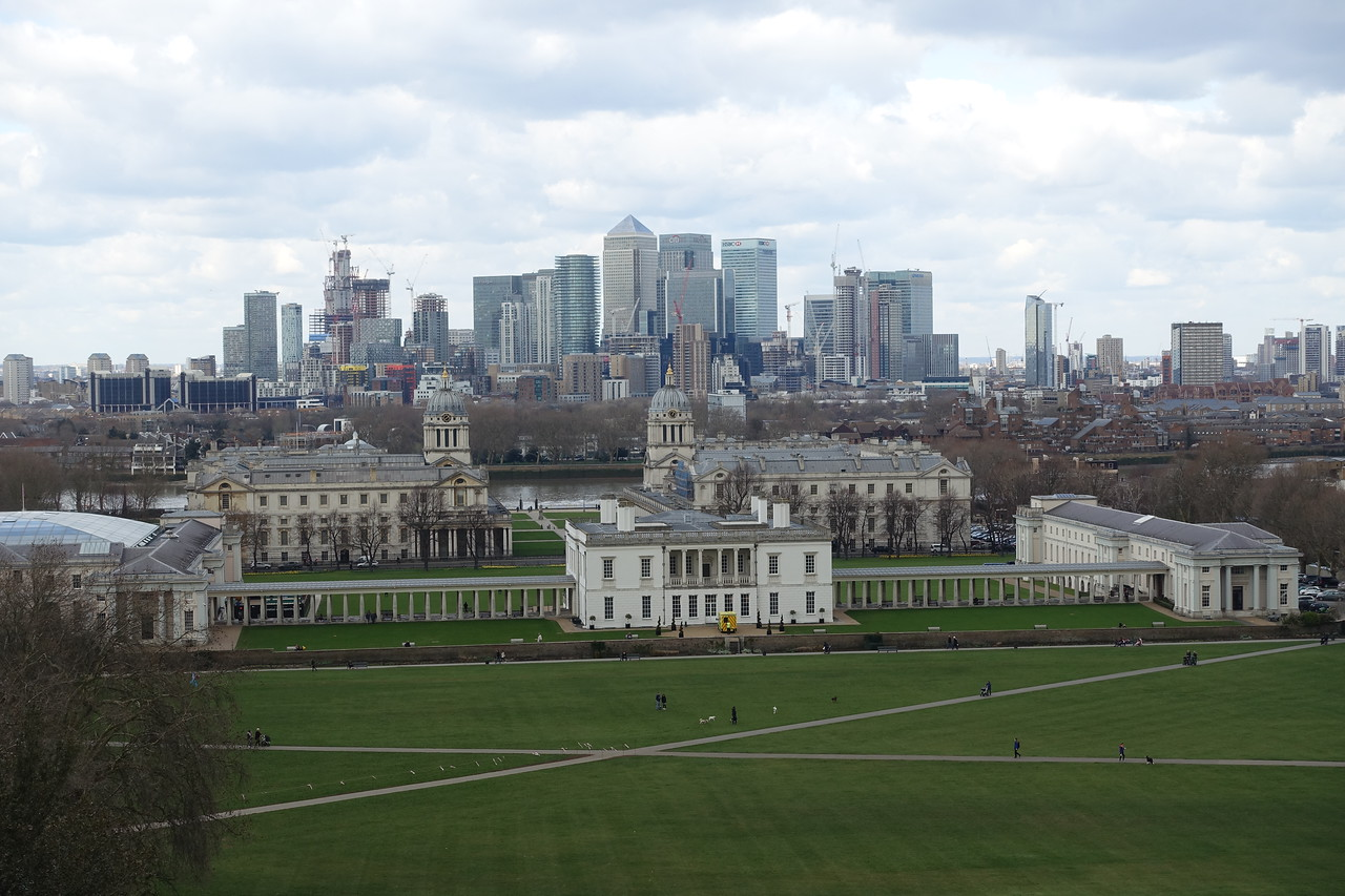 Queen's House and the National Maritime Museum