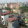 View from our bathroom window.  Check out the rooftop water tanks.