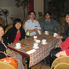 """Our colleagues were very proud of VN coffee and took as out for special """"G7"""" at an upbeat, contemporary coffee house.  Quinn, Ha, Quy, Hung, Pat, Linda."""
