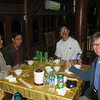 Drs Dieu and Tu took us to dinner at a local restaurant - Nhu Hang Ngoc Chau.  Dr. Tu, Dr. Dieu, Quy, Robin.